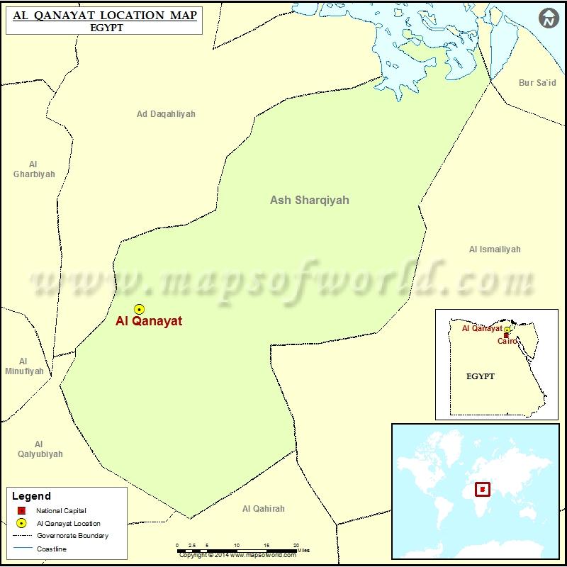 Where is Al Qanayat