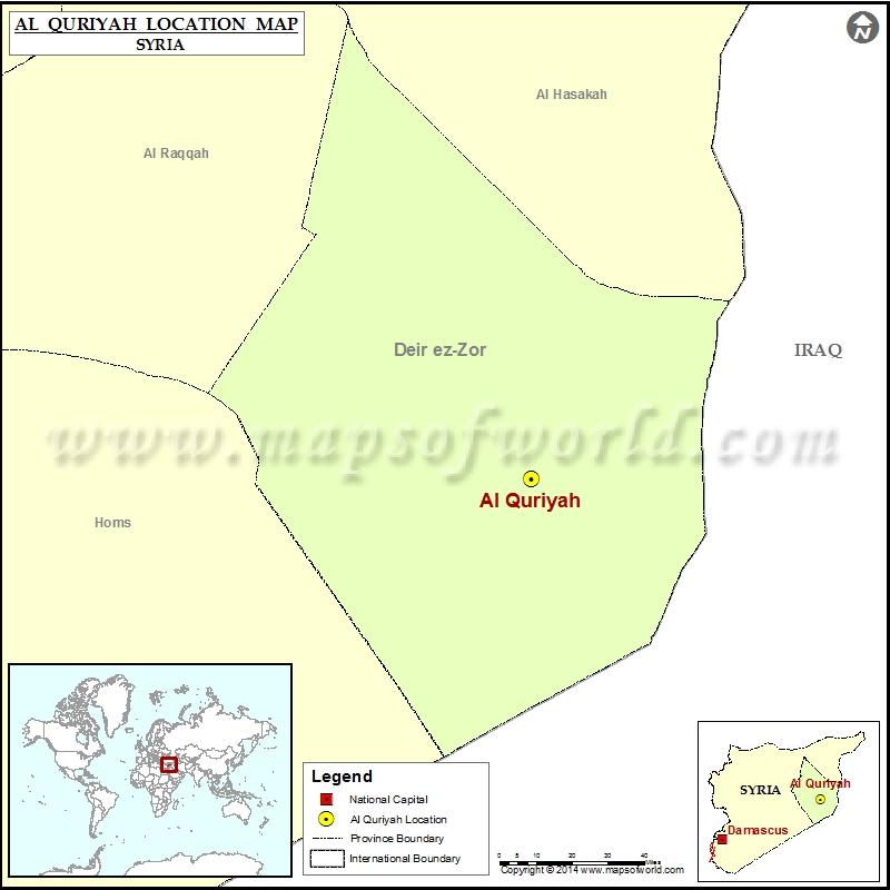 Where is Al Quriyah