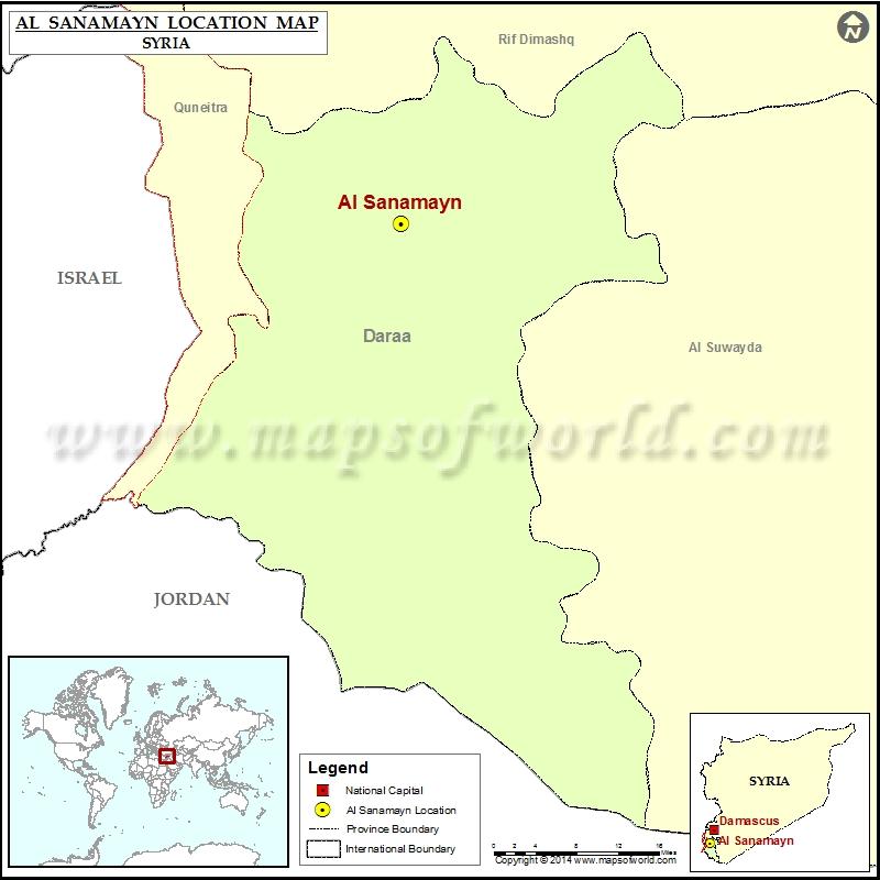 Where is Al-Sanamayn