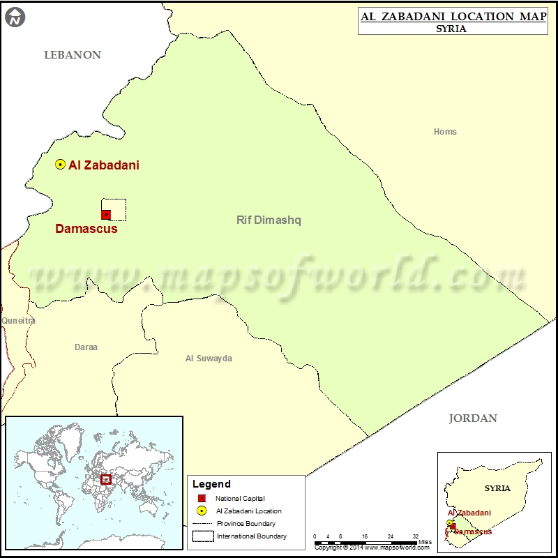 Where is Al-Zabadani