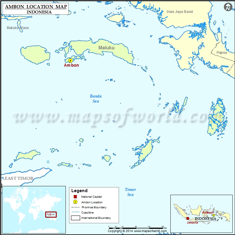 Where is Ambon