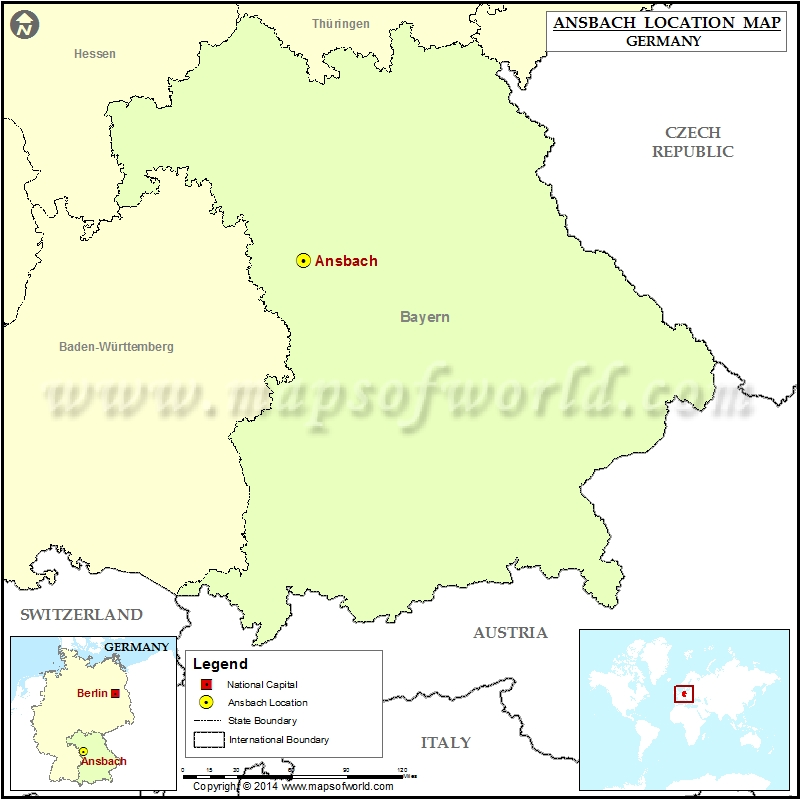 Where is Ansbach