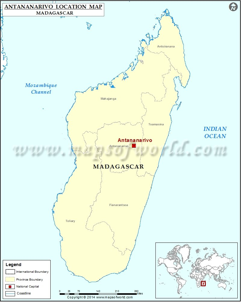Where is antananarivo location of antananarivo in madagascar map where is antananarivo gumiabroncs Images