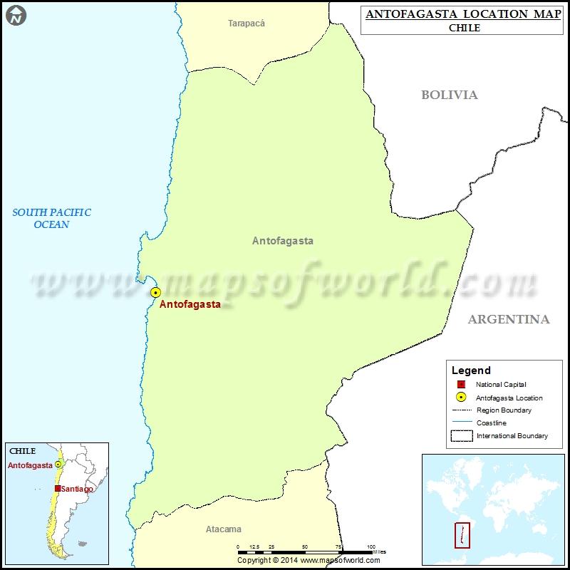 Where is Antofagasta