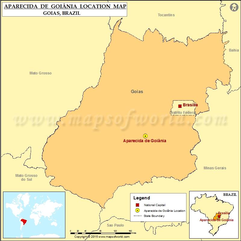 Where is Aparecida de Goiania