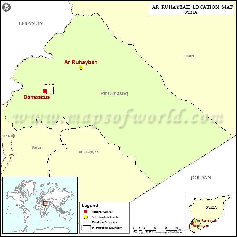 Where is Ar-Ruhaybah