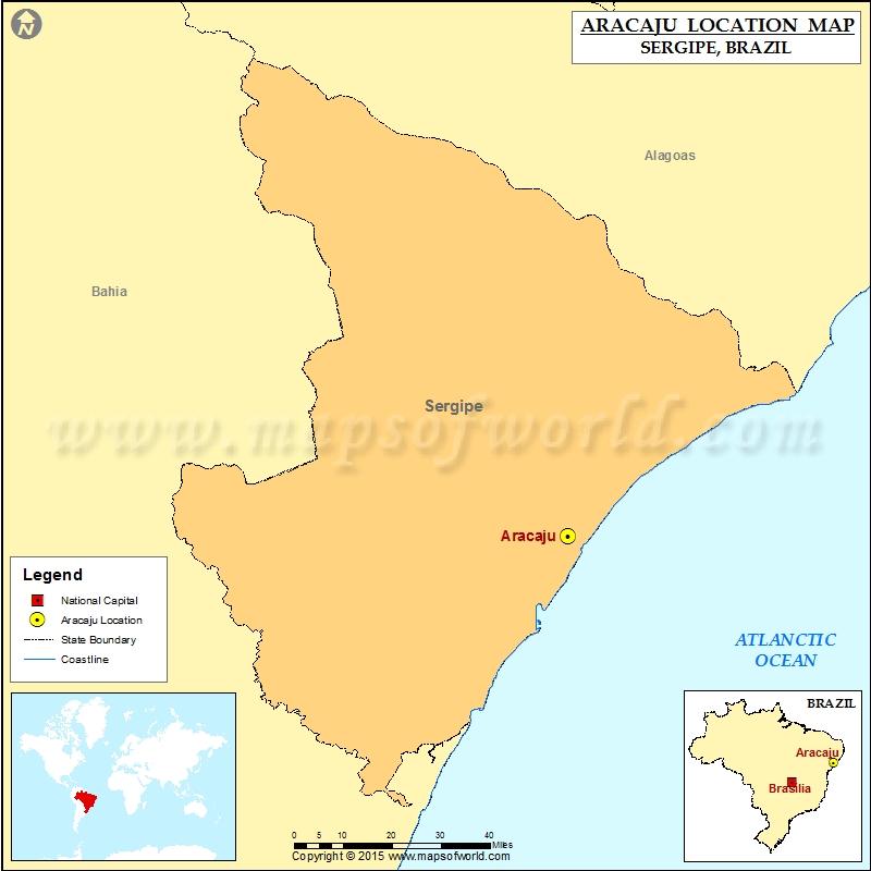 Where is Aracaju