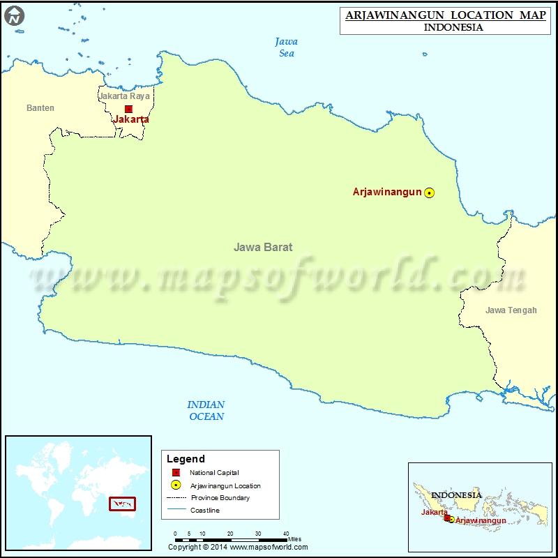 Where is Arjawinangun