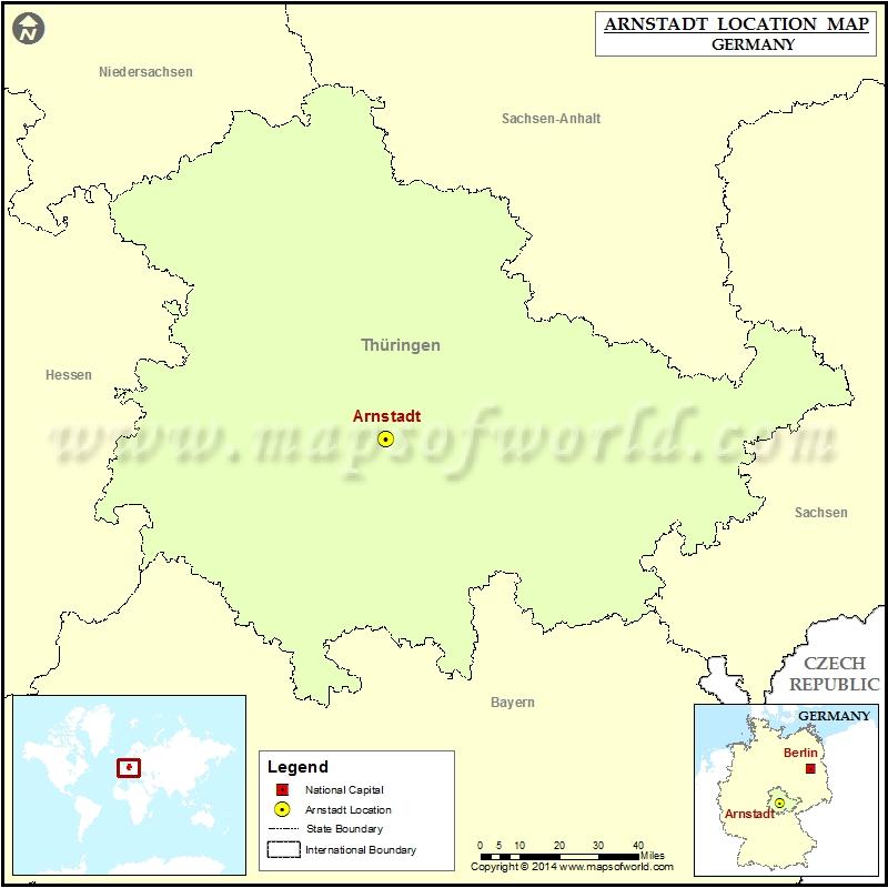 Where is Arnstadt