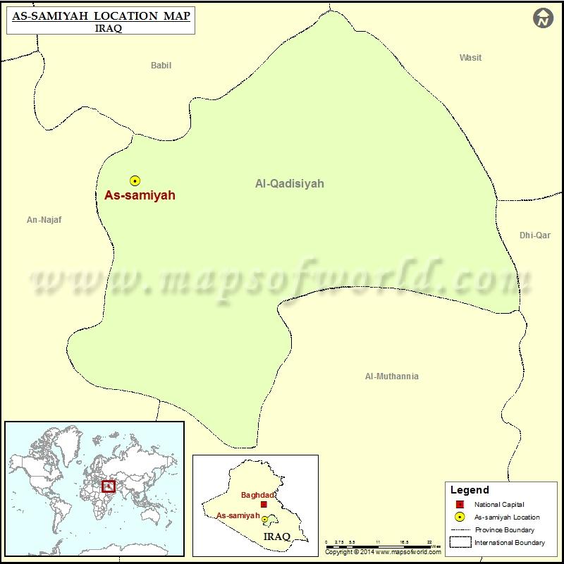 Where is As samiyah