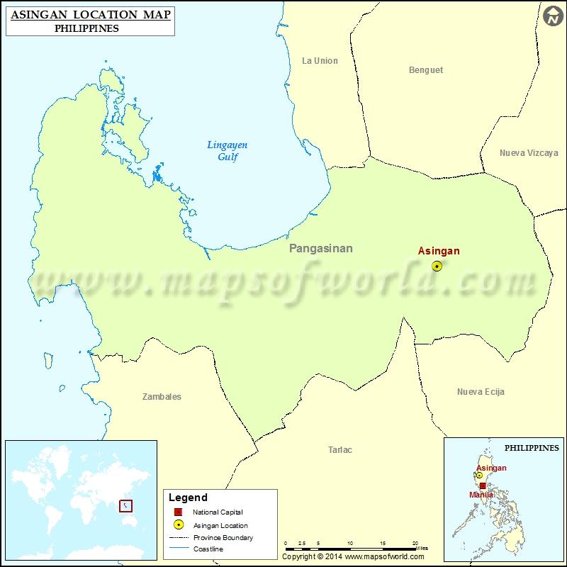 Where is Asingan
