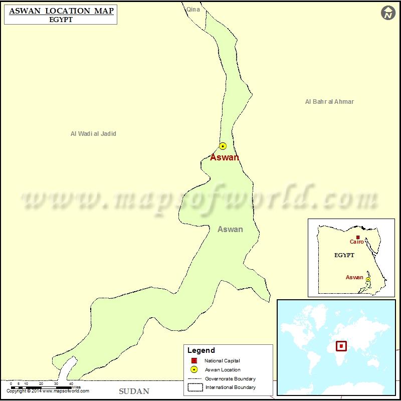Where is Aswan