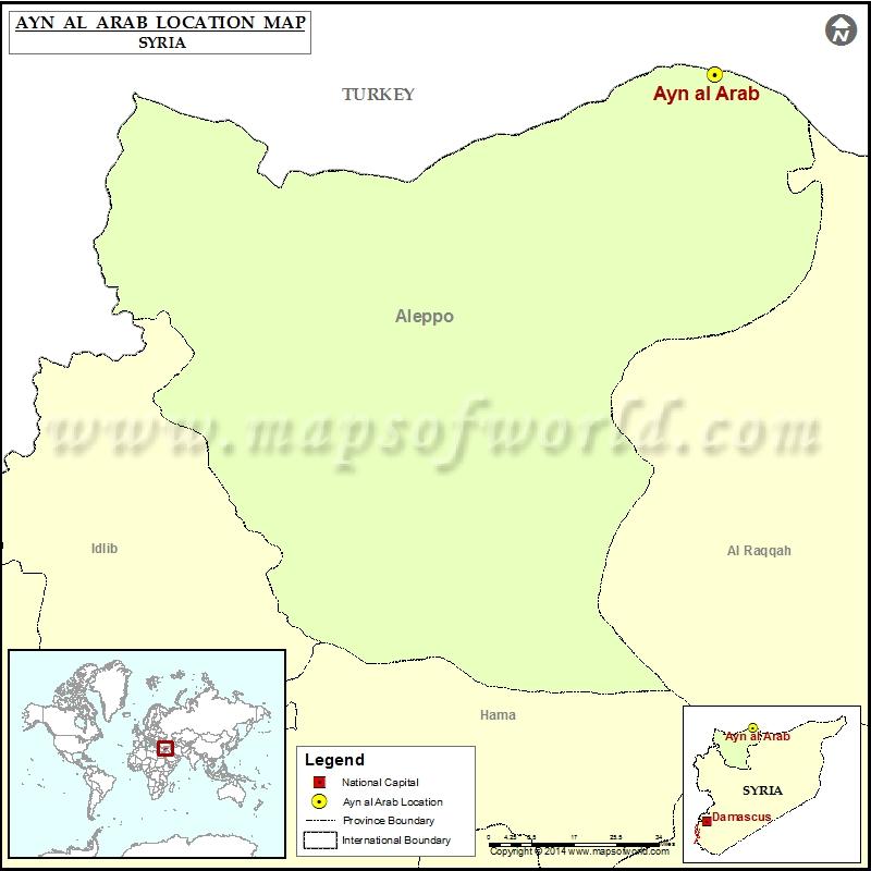 Where is Ayn al-Arab