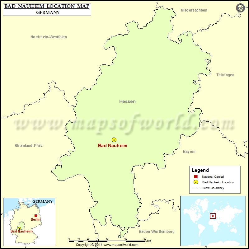 Where is Bad Nauheim