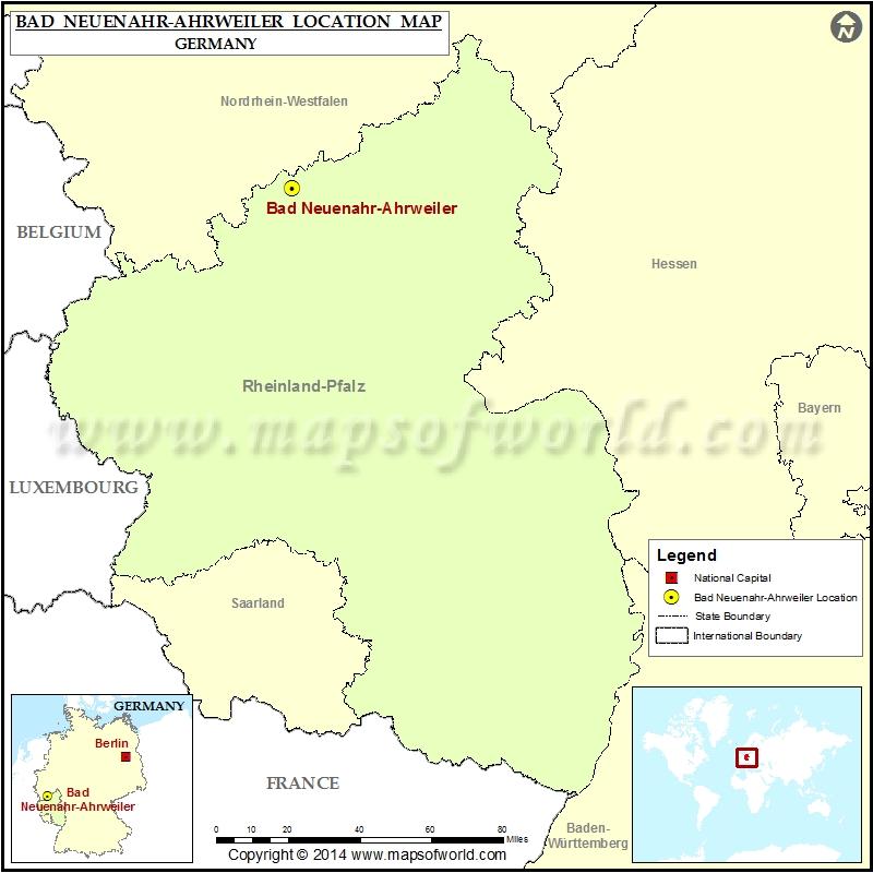 Where is Bad Neuenahr Ahrweiler