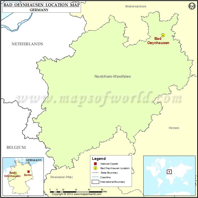 Where is Bad Oeynhausen