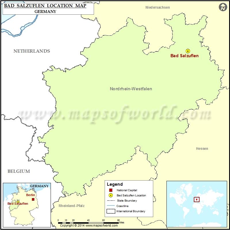 Where is Bad Salzuflen