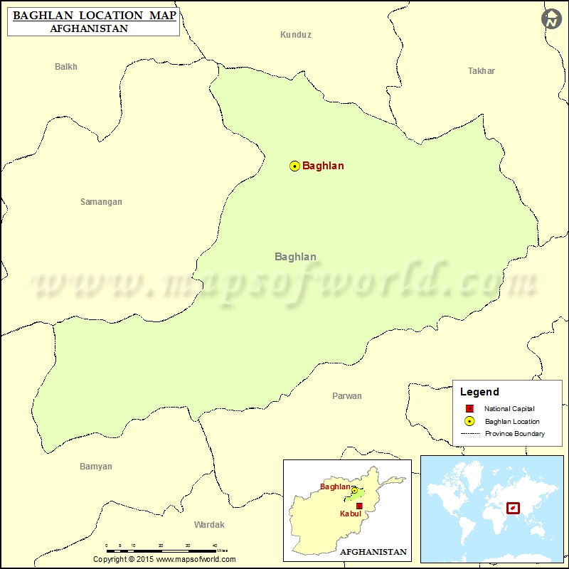 Where is Baghlan