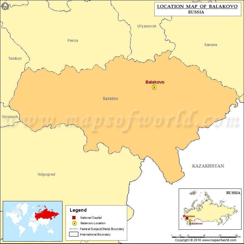 Where is Balakovo