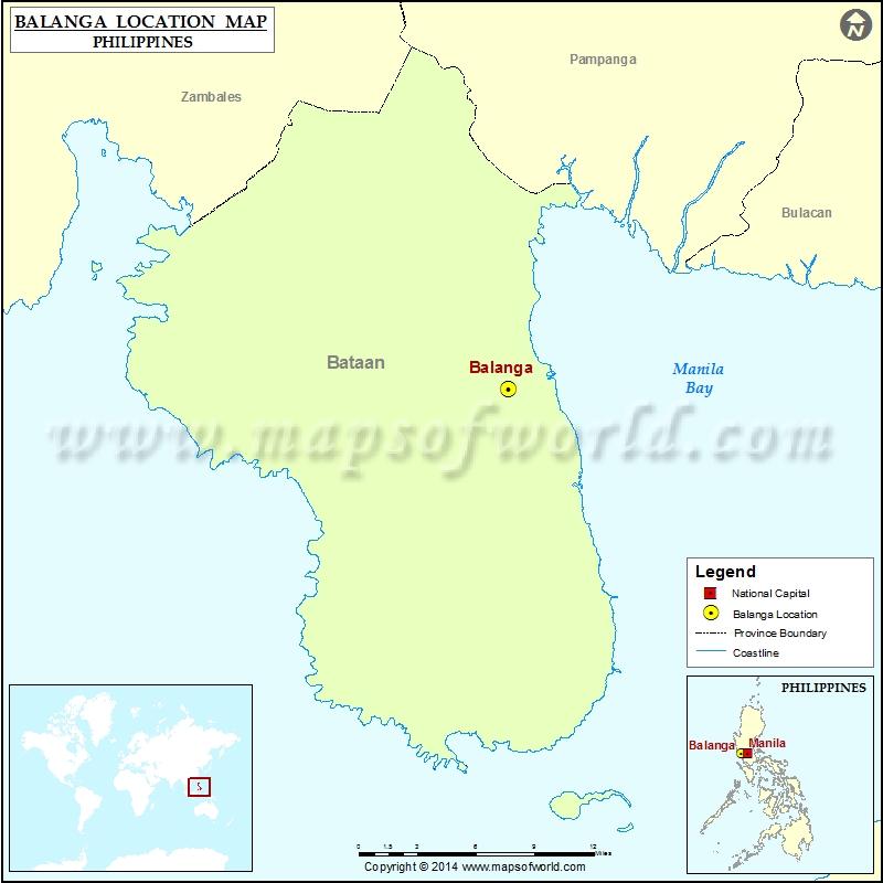 Where is Balanga