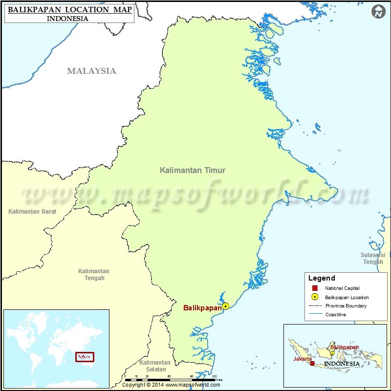 Where is Balikpapan