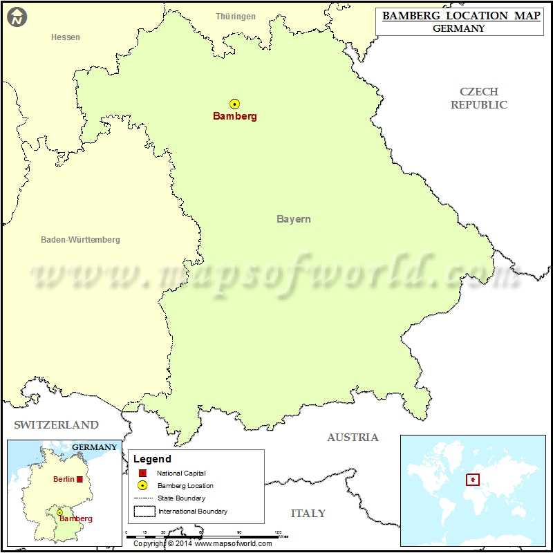 Where is Bamberg