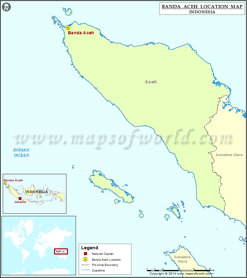 Where is Banda Aceh