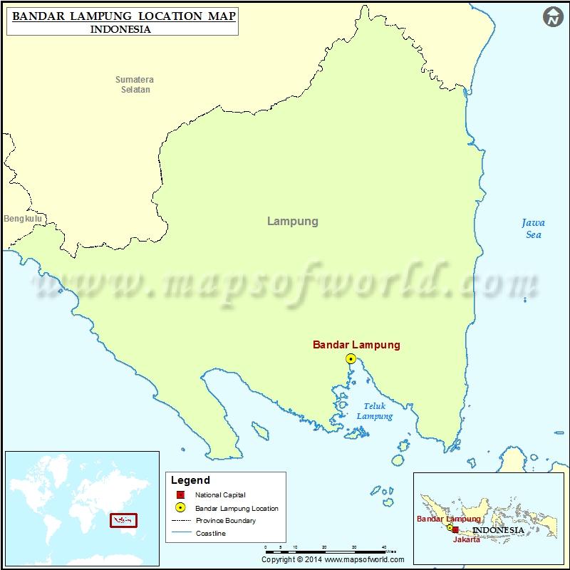 Where is Bandar Lampung