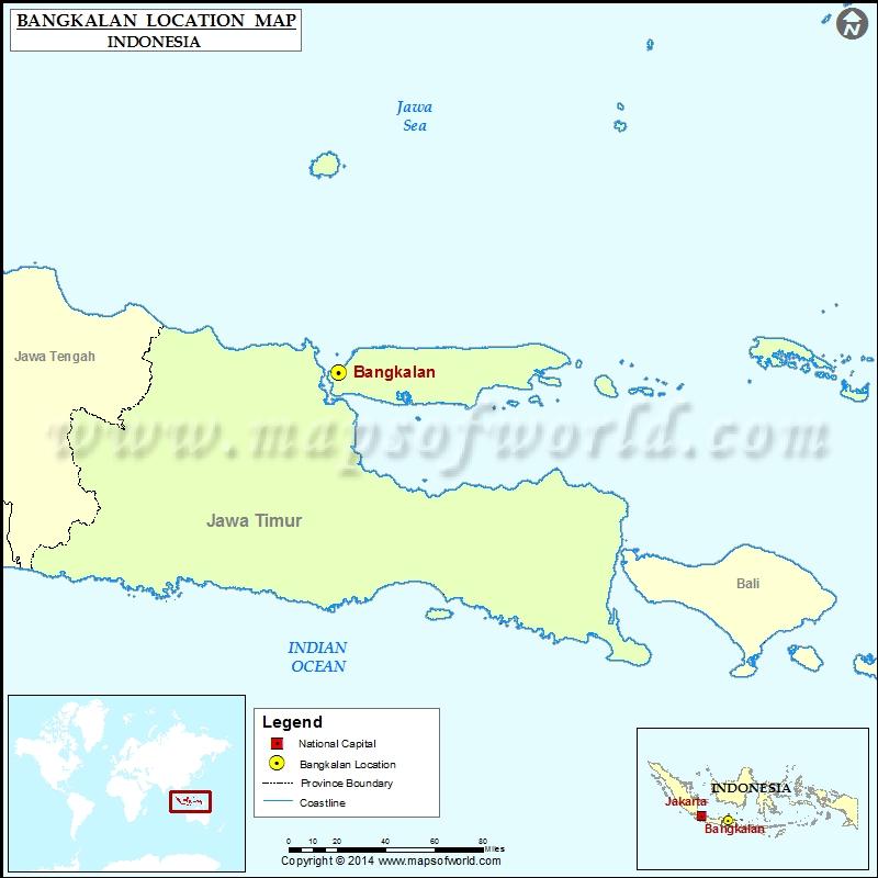 Where is Bangkalan