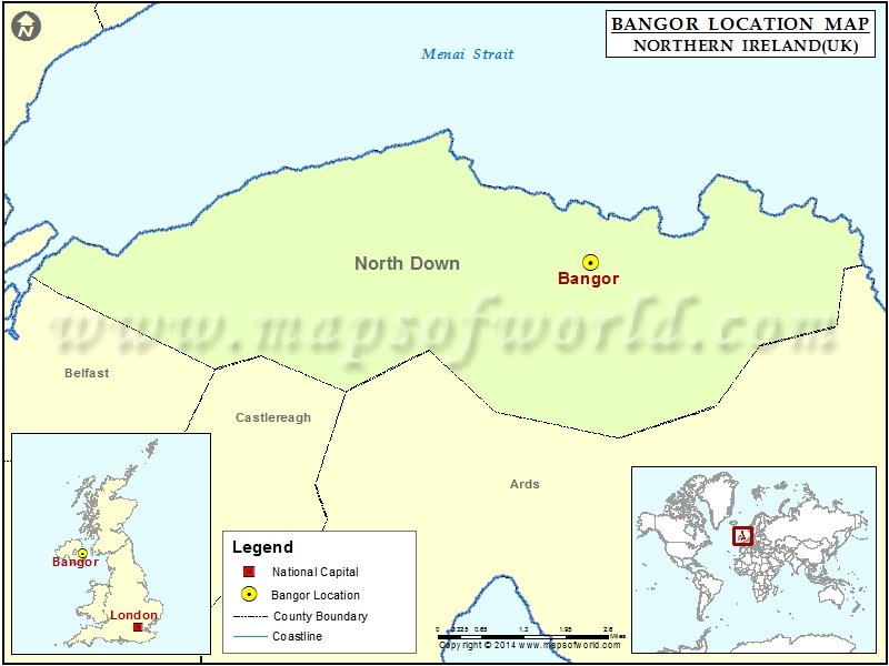 Where is Bangor
