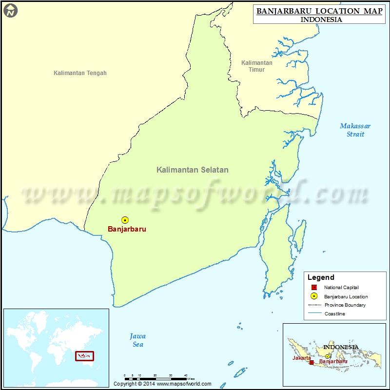 Where is Banjarbaru