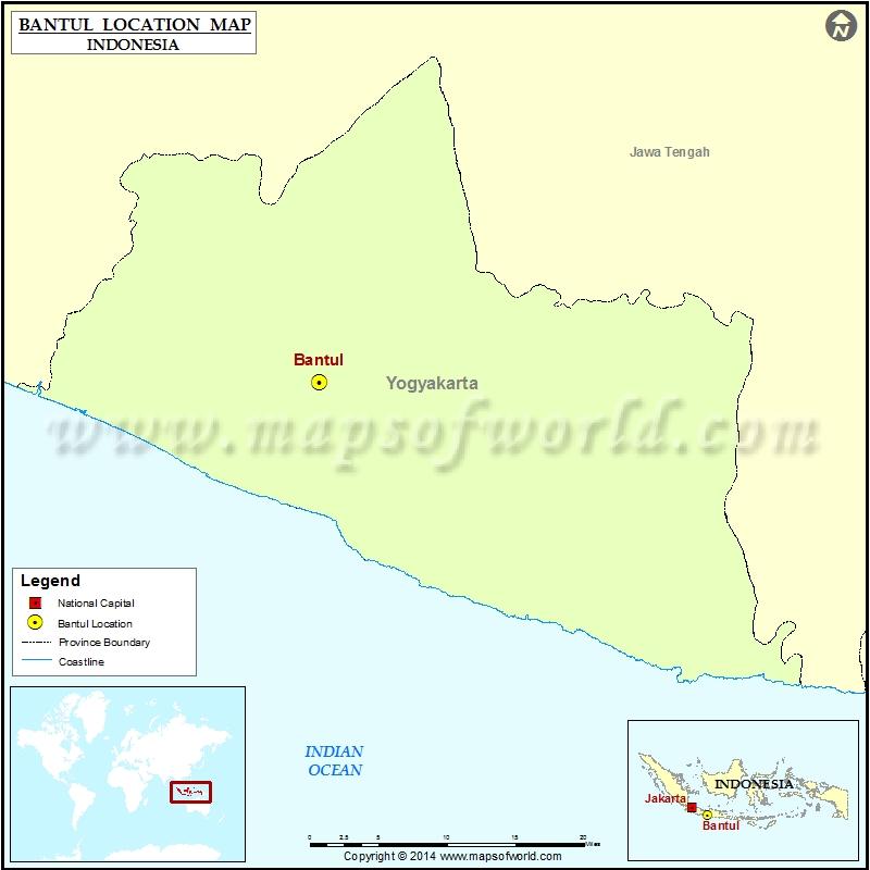 Where is Bantul