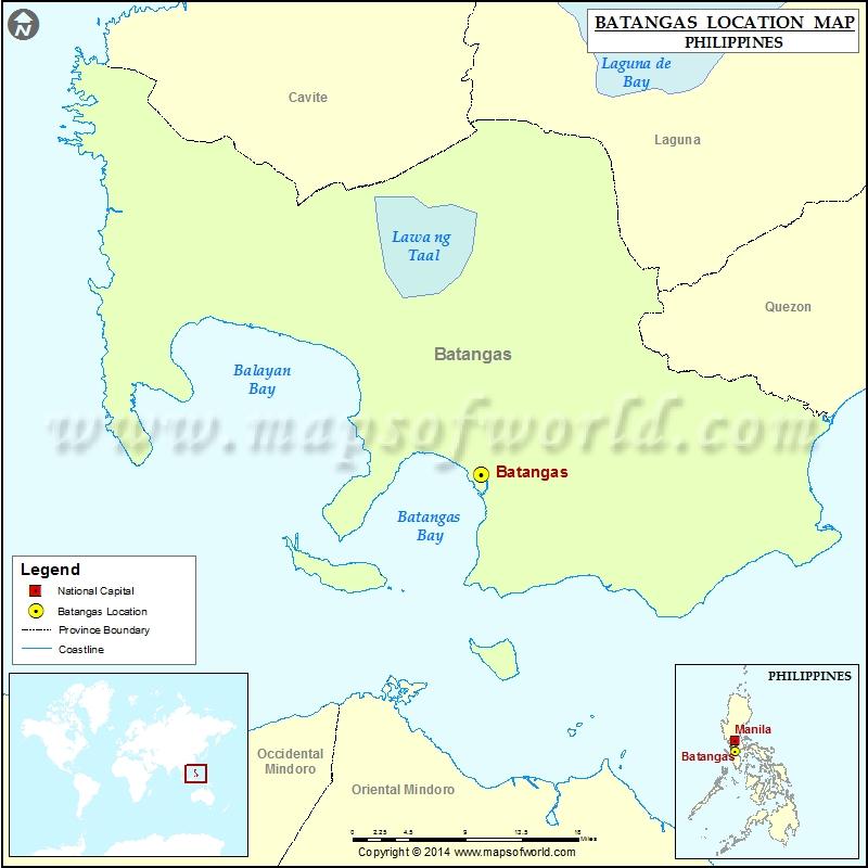 Where is Batangas