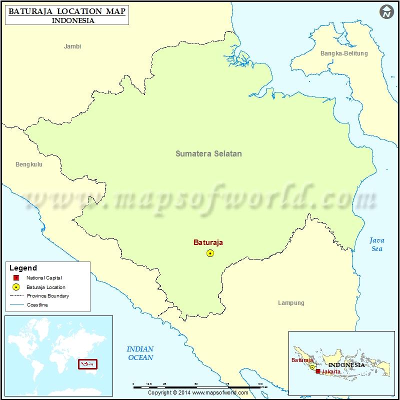 Where is Baturaja