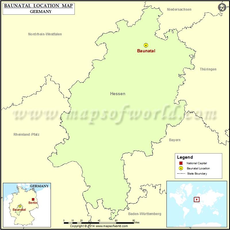 Where is Baunatal