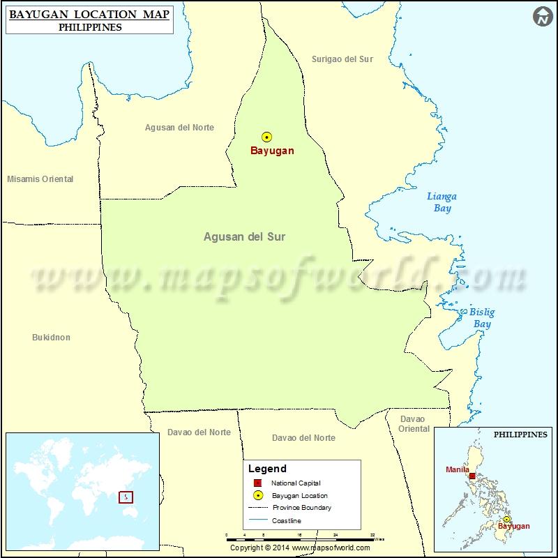 Where is Bayugan