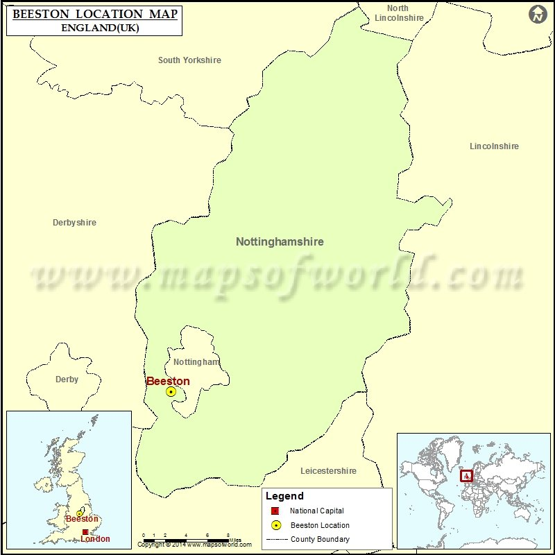 Where is Beeston (Broxtowe)