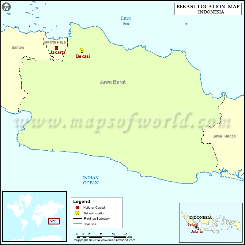 Where is Bekasi