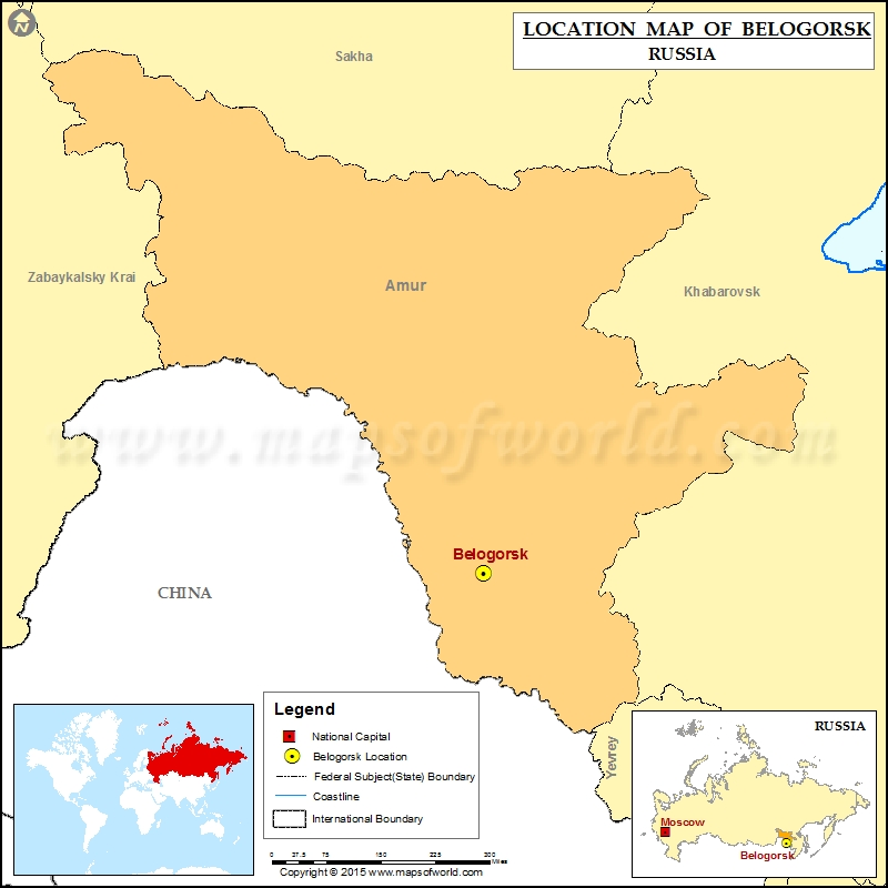 Where is Belogorsk