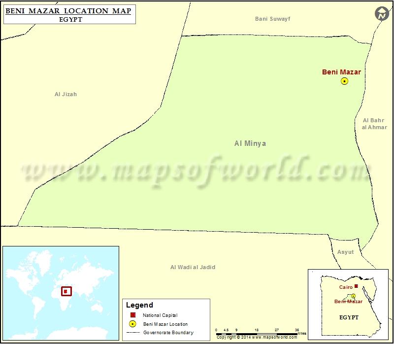 Where is Beni Mazar