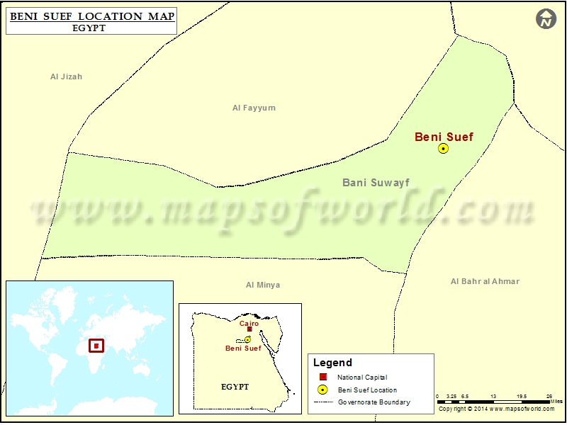 Where is Beni Suef