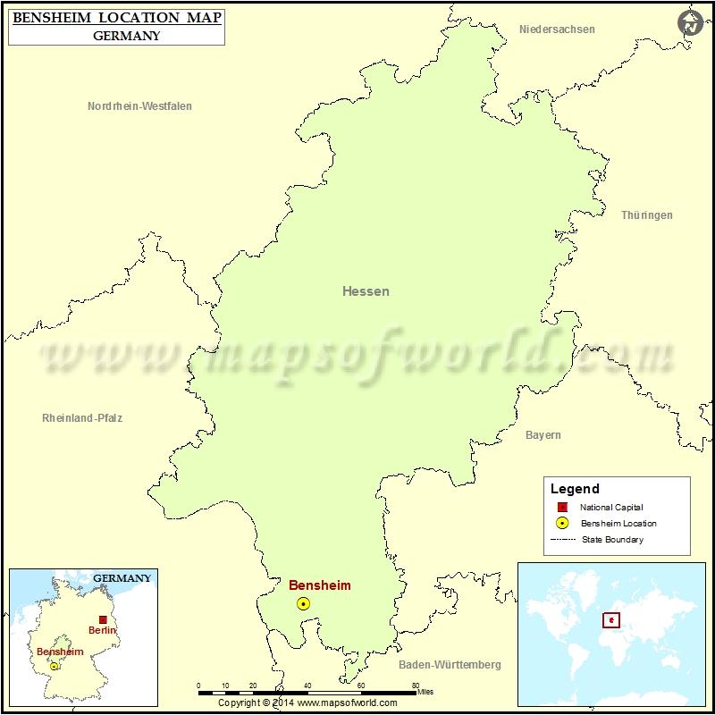 Where is Bensheim
