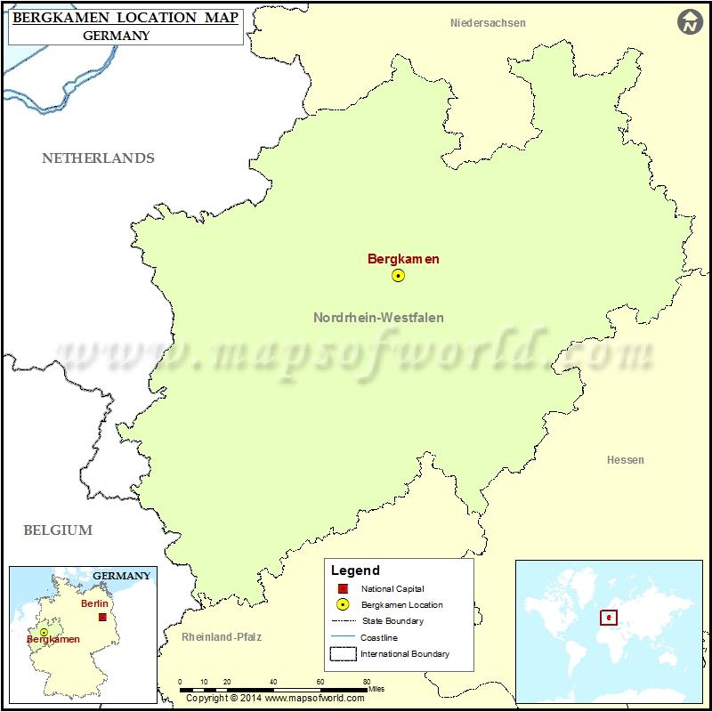 Where is Bergkamen