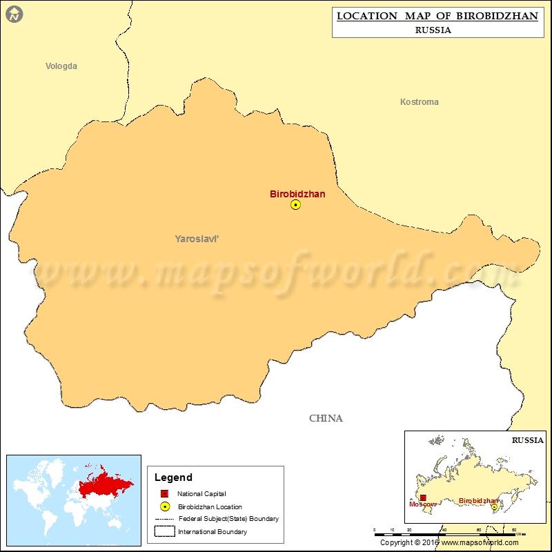 Where is Birobidzhan