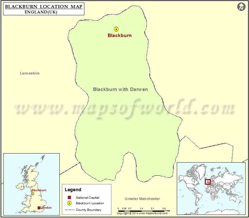 Where is Blackburn