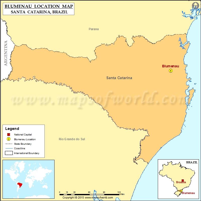 Where is Blumenau