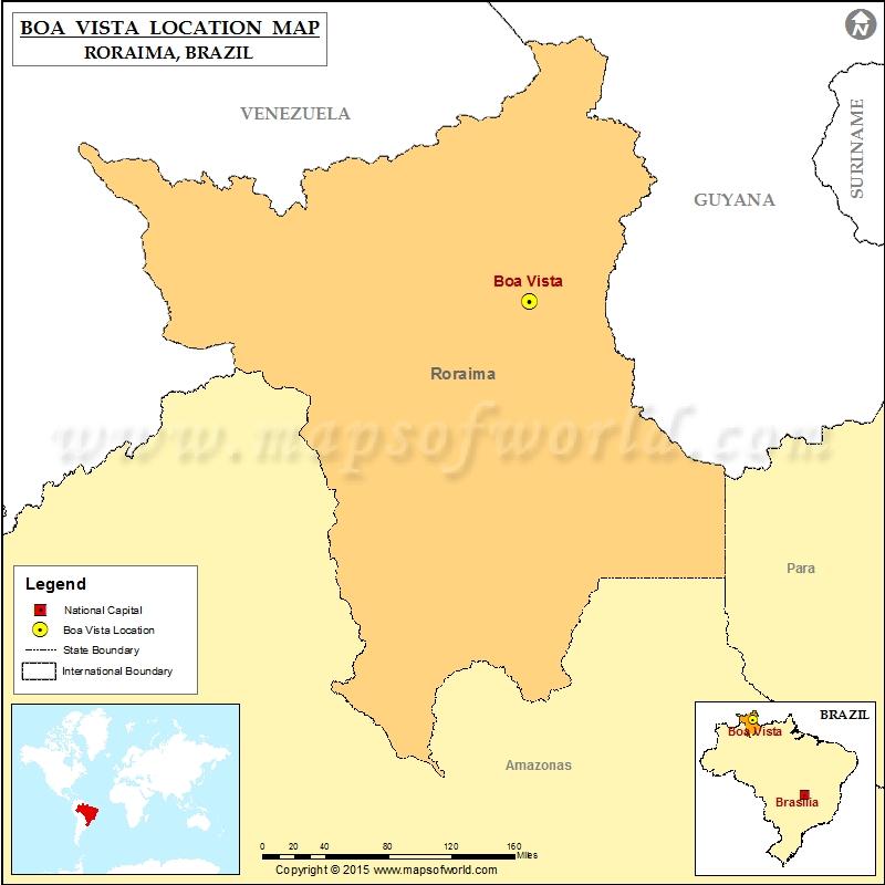 Where is Boa Vista