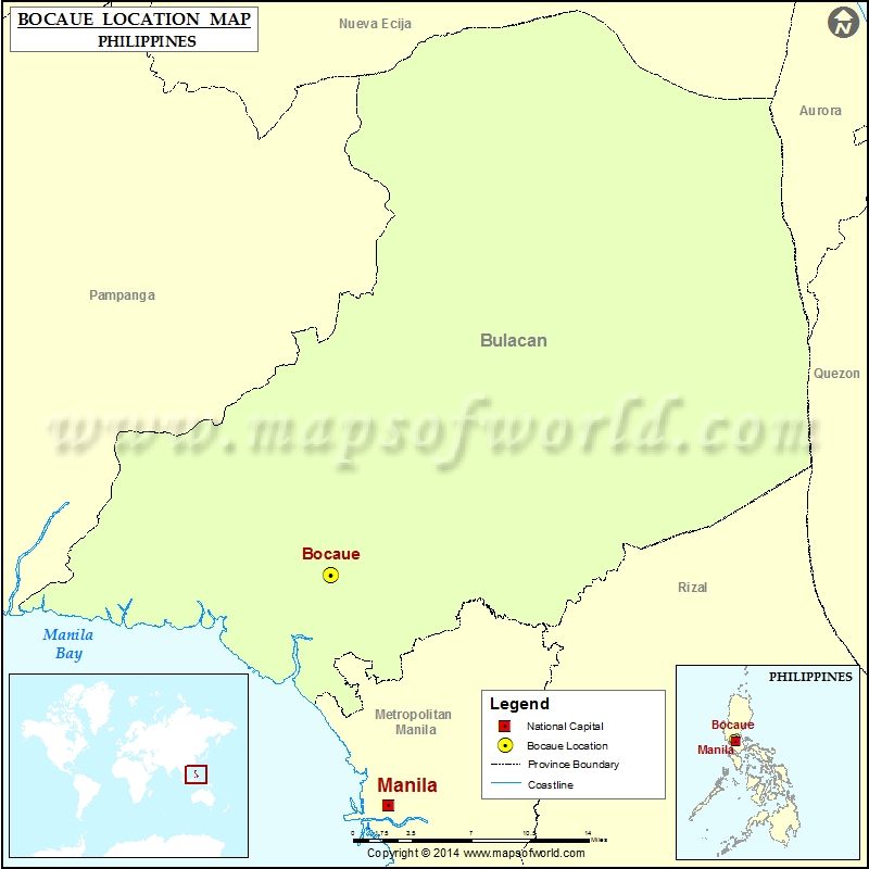 Where Is Bocaue Location Of Bocaue In Philippines Map - Bocaue map