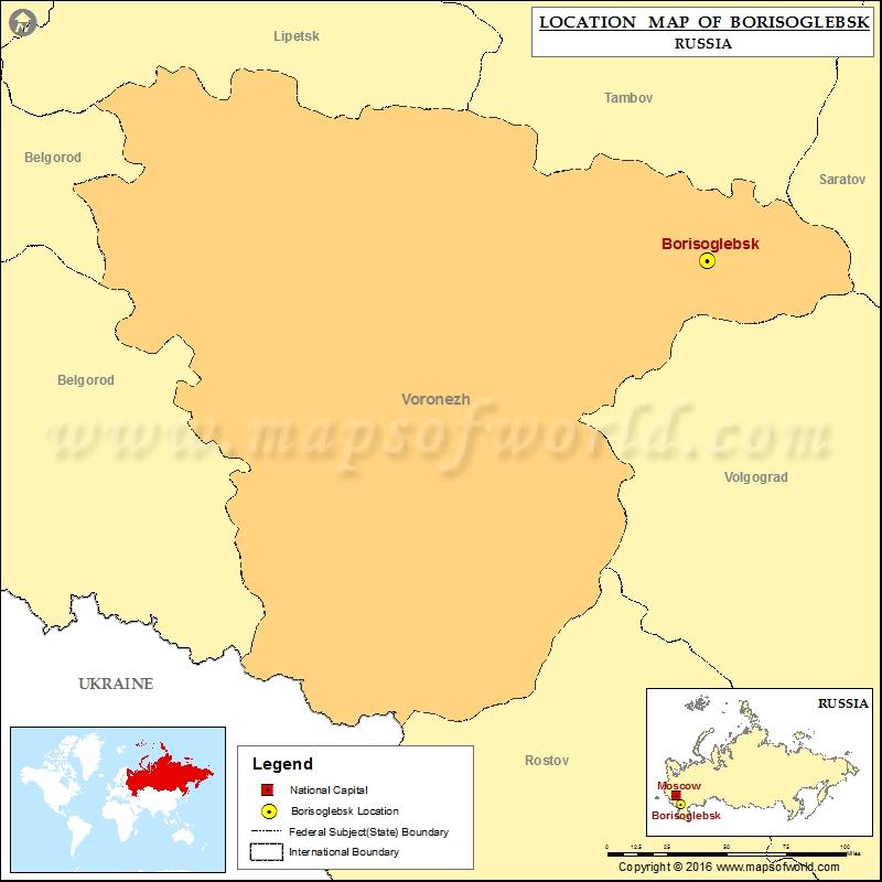 Where is Borisoglebsk