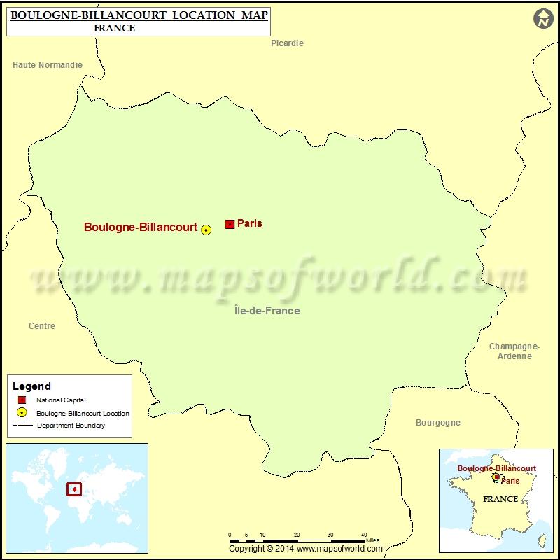 Where is Boulogne-Billancourt